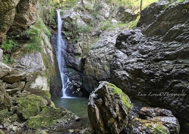Brusimpiano, cascata del Trallo - foto di Luca Leone