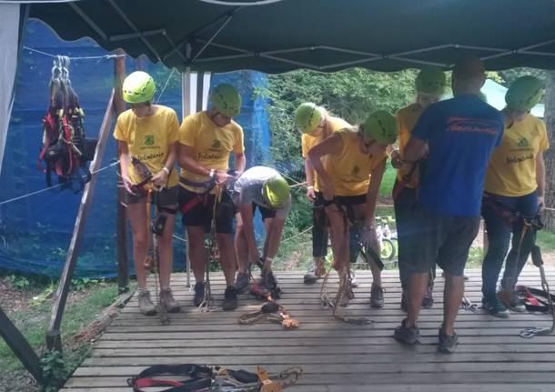 Camp di volontariato con Legambiente Varese Luglio 2019