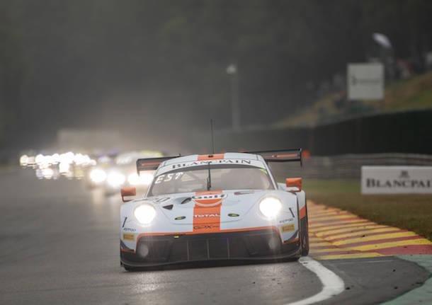 Vittoria Porsche nella 24 Ore di Spa