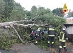 2 agosto, il maltempo sul Varesotto