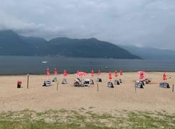 Germignaga e la sua spiaggia