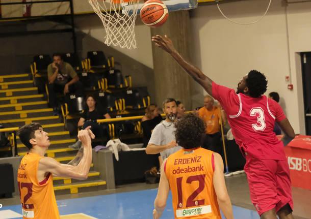 Amichevole a Bormio: Openjobmetis - Galatasaray 61-47