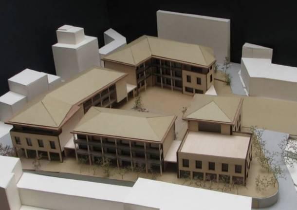 centro storico albizzate corte bassani