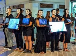 flash mob animalista anonymous