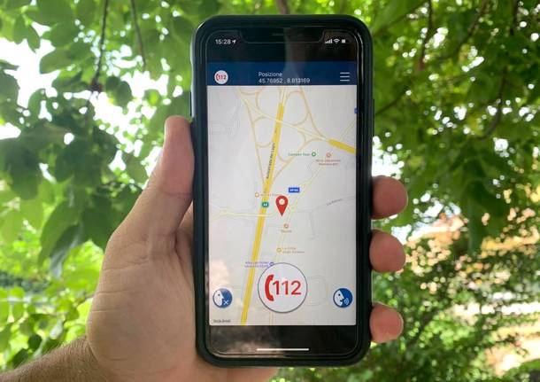 Una app del 112 per geolocalizzare in tempo reale chi richiede soccorsi