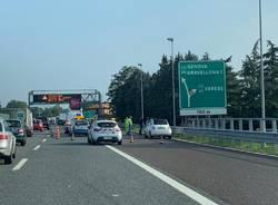incidente autostrada gallarate