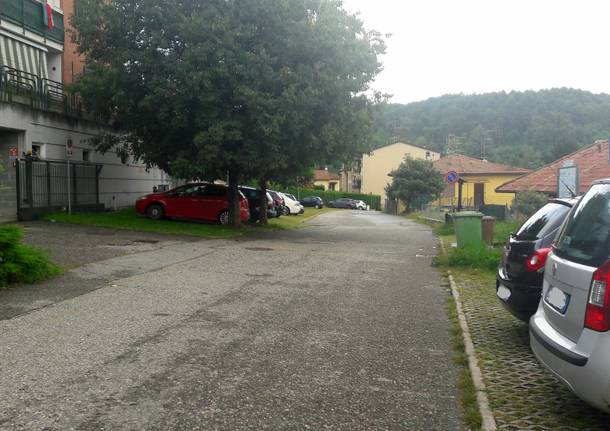 parcheggio mercallo