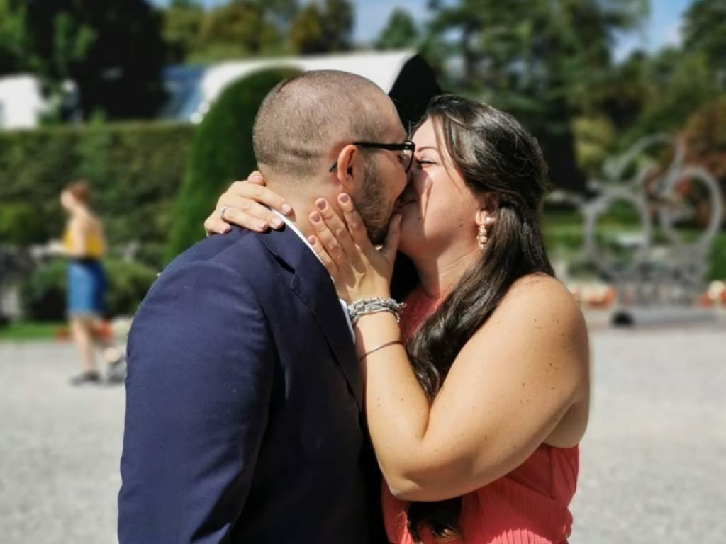 Giulia e Christian si sono sposati
