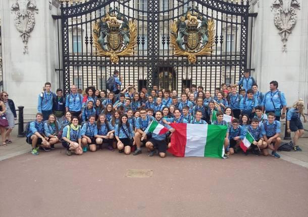 Giulio Bernasconi a Jamboree World Scout,