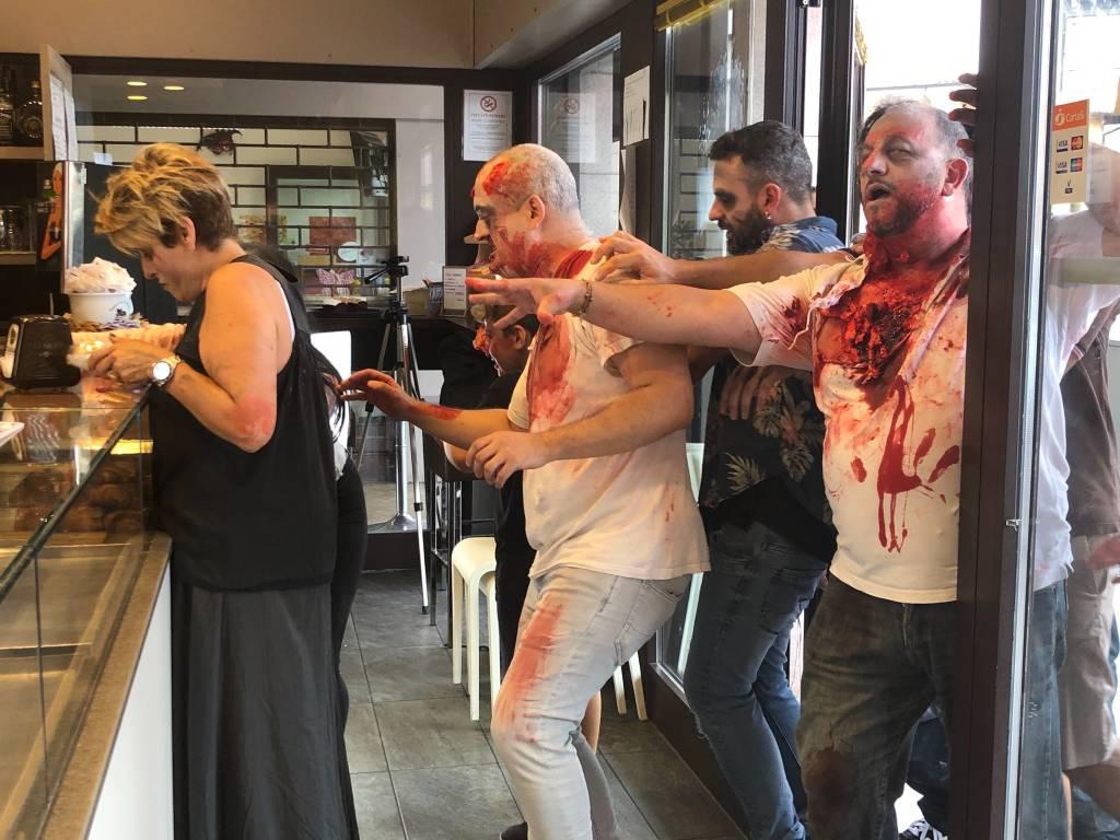 Gli zombie a Varese