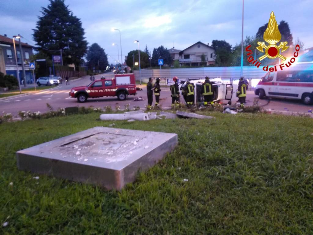 Grave incidente automobilistico a Cavaria