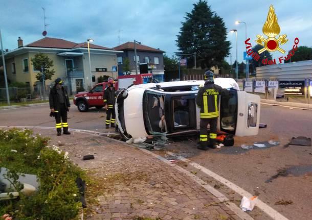 Grave incidente automobilistico a Cavaria