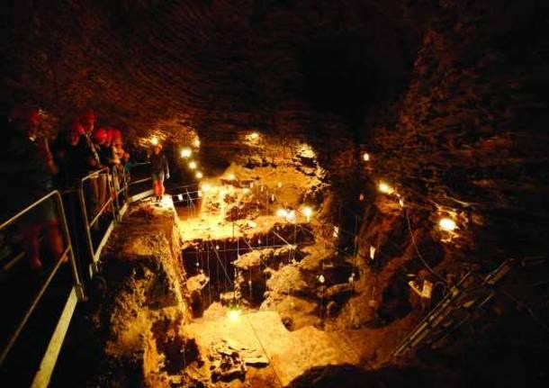 grotta dell'orso Monte Generoso