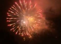 I fuochi d'artificio di Sant'Eusebio sconfiggono anche le previsioni meteo