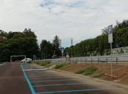 Il nuovo parcheggio di via Maspero, prima dell'inaugurazione