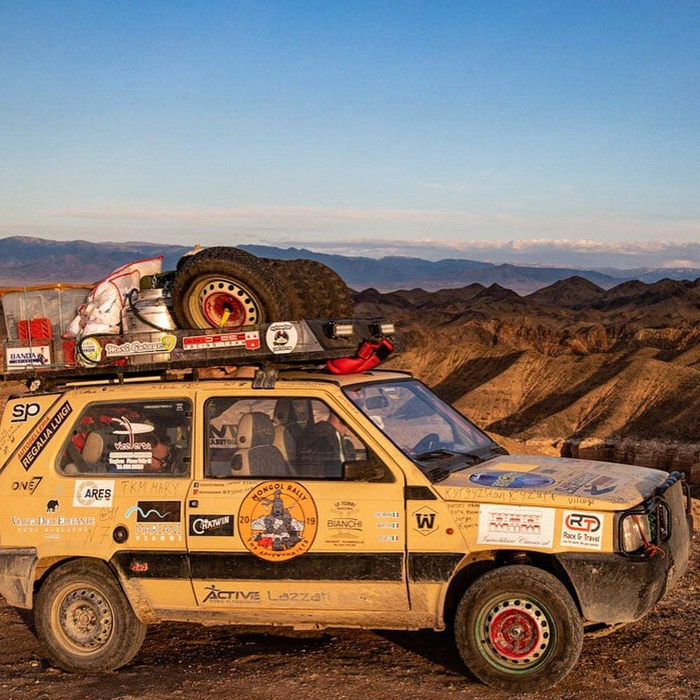 Mongol Rally, Asia Centrale