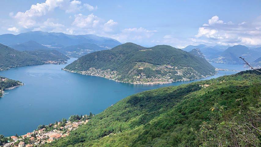 Monte Grumello veduta Lago di Lugano