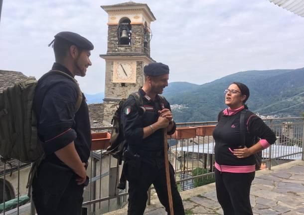 nora sahnane carabinieri monteviasco