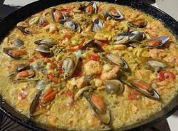 paella cucina spagnola spagna riso