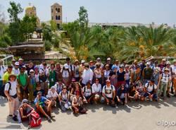 Pellegrinaggio in terra santa per i iovani della comunità santa maria immacolata