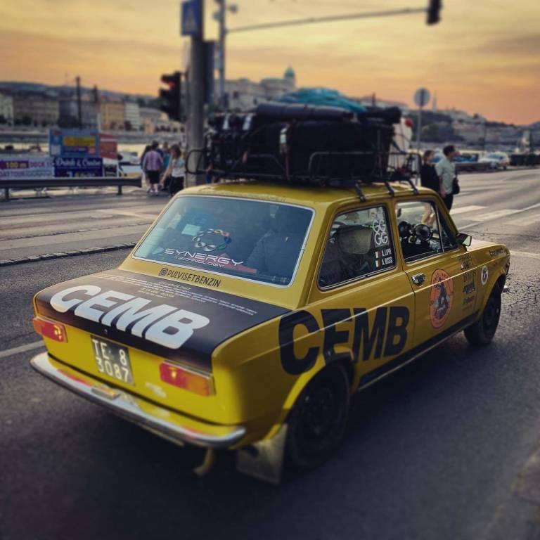 Pulvis et Benzin Mongol Rally 2019
