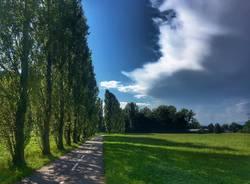 Sole e nuvole - foto di Angela Garegnani
