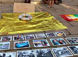 Varese: presidio contro il decreto sicurezza bis