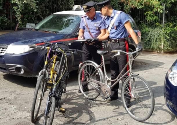 carabinieri furto biciclette