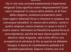 """IL CAFFÈ FILOSOFICO - \""""Non c\'è più religione\"""" . Interrogativi sul fenomeno religioso."""