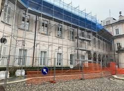 Lavori in corso a Villa Recalcati