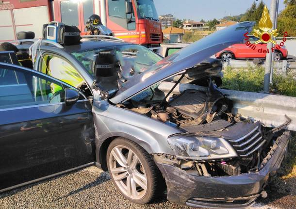 Grave incidente in autostrada