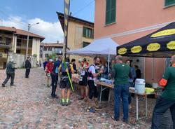 Campo dei Fiori Trail 2019 - Il ristoro al Brinzio