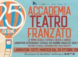 La 25^ edizione dell\'Accademia Teatro Franzato