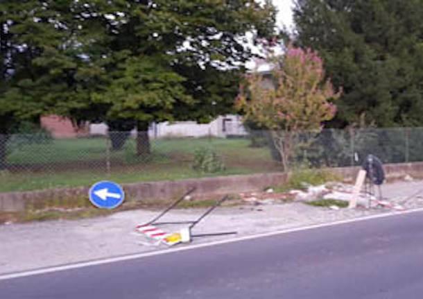 Castelseprio  ciclabile via San Rocco