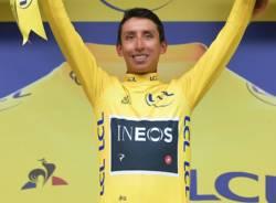 ciclismo egan bernal maglia gialla tour de france