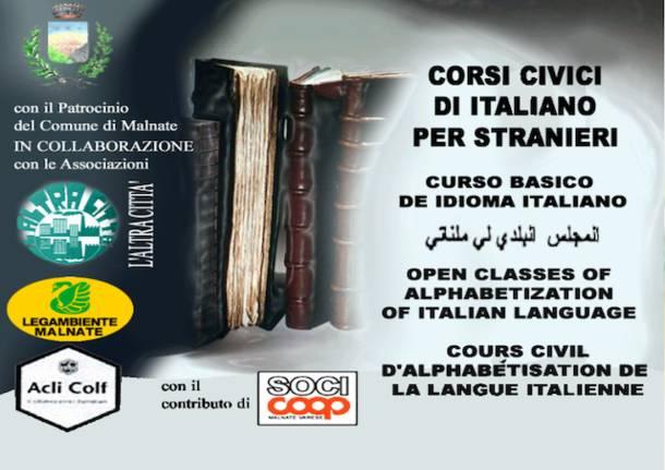 corso italiano per stranieri malnate
