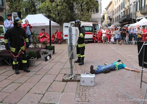 Croce Rossa in festa a Varese