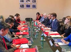 delegazione cinese camera di commercio varese