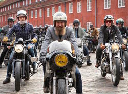 Distinguished Gentleman's Ride motociclisti