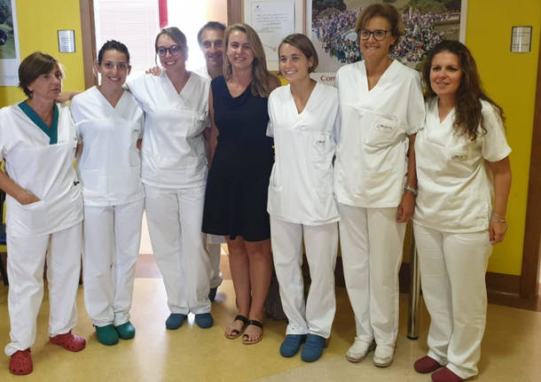 equipe della dottoressa Eliana Cristofari