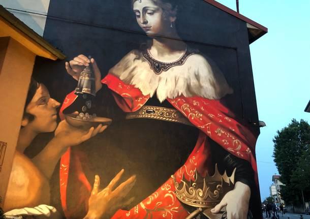 Ravo svela La Carità a Somma Lombardo