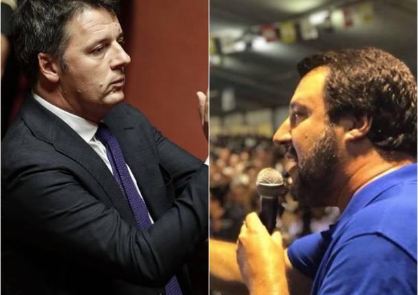 Matteo Renzi vs/ Matteo Salvini