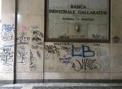 graffiti pulizia gallarate