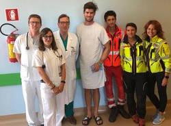 giovane australiano salvato con il defibrillatore