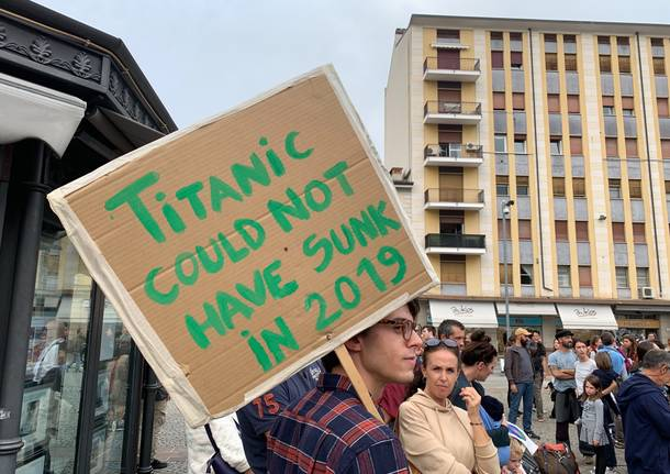 I cartelli di fridays for future