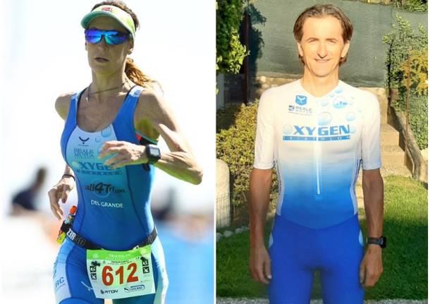ilaria del grande alessandro parola oxygen triathlon