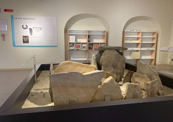 Inaugurazione museo Golasecca