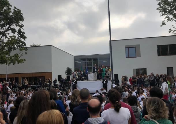 Inaugurazione Scuola Silvio Pellico di Saronno