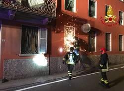 Incendio Germignaga settembre 2019