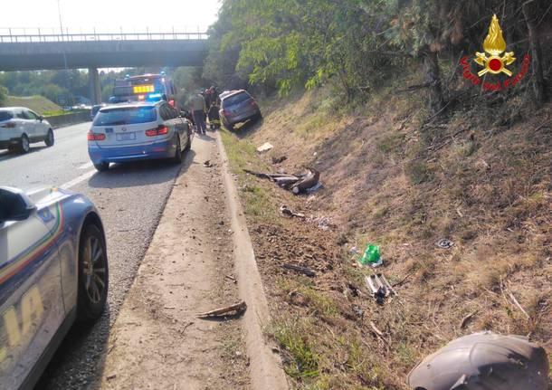 incidente 336 fuori strada